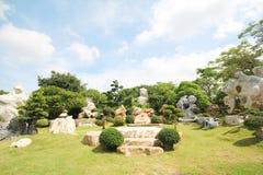 Million d'ans de parc en pierre, Pattaya Thaïlande 05-May-2013 Images stock