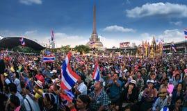 Million de protestataires a marché pour l'anti corruption gouvernementale (PRI Photo stock