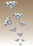 Million diamonds Royalty Free Stock Images