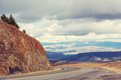 Million dollar highway Stock Photography