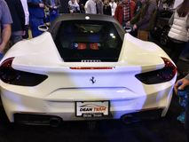 Million Dollar Mile Ferrari stock photography