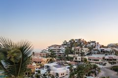 Million dollar views in Cabo San Lucas stock images