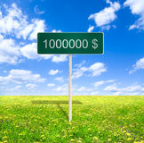 Million dollars Royalty Free Stock Images