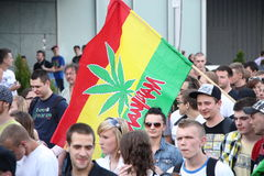 Million Marijuana March Stock Photos
