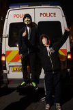 Million Maske März in London Stockbilder