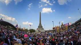 Million of protesters walked for anti government corruption (Pri Royalty Free Stock Photos