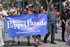 Million Puppet Parade Banner Royalty Free Stock Photo