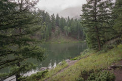 Million Reservoir near South Fork, Colorado Stock Images