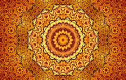 Million squares kaleidoscope. Multi squares mandala kaleidoscope for relax time Royalty Free Stock Photos