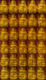 Million statue Lord Buddhas Royalty Free Stock Photography