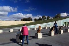 2012 Million Tatzen-Weg-Ereignis in Canberra Stockbilder