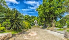 Million Years Stone Park, Pattaya, Thailand. The Million Years Stone Park and Pattaya Crocodile Farm royalty free stock photography