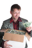 The millionaire. Eccentric the millionaire, such I am Stock Photo