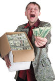 The millionaire Stock Image