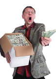 The millionaire. Eccentric the millionaire, such I am Royalty Free Stock Photos