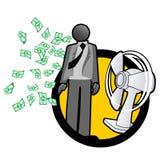 Millionaire businessman Stock Photography
