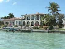 Millionaire Homes, Bird Key, Sarasota Florida. Millionaire Homes along Bird Key, Sarasota, Florida royalty free stock images