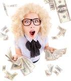 Millionaire lotterivinnarebegrepp Royaltyfri Fotografi
