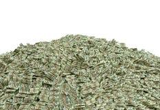Millionen Dollar Stockfoto