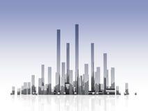 Millionenstadt Stockfoto