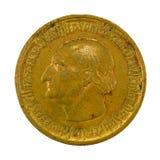 50 millions d'inverse de la pièce de monnaie 1923 de mark de royaume d'Allemand photos libres de droits