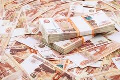 Millions de roubles Image libre de droits