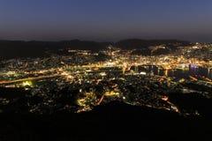 10 millions de vue de nuit du dollar Photographie stock
