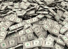 Millions of dollars royalty free stock images