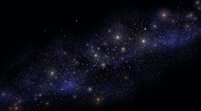 Millions of stars Stock Photos