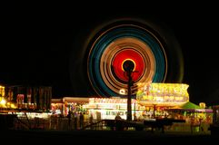 Millis Carnival at Night Royalty Free Stock Photos