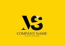 Milliseconde Letter Logo Design Photographie stock libre de droits
