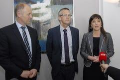 Milliseconde Ministre de santé danois de Sophie Loedhe (hde de ½ de ¿ de Sopie Lï) Photographie stock libre de droits