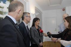 Milliseconde Ministre de santé danois de Sophie Loedhe (hde de ½ de ¿ de Sopie Lï) Photos stock