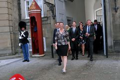 MS.METTE FREDERIKSEN NEW PRIME MINISTER AND WITH GOVT