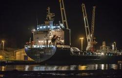 Millivolt Alina på den Halden hamnen Arkivfoto