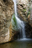 Nature waterfall of Millomery Cyprus Royalty Free Stock Photo