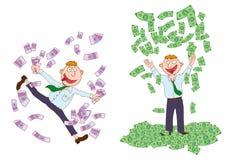 Millonario stock de ilustración