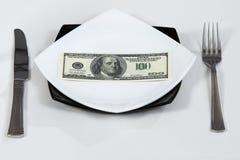 Millonario de la riqueza de los dólares del dinero Imágenes de archivo libres de regalías