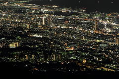 10 millones de dólares de opinión de la noche de Kobe Imagen de archivo libre de regalías
