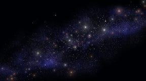 Millones de estrellas Fotos de archivo