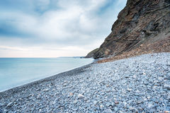 Millook Haven in Cornwall Stock Photography