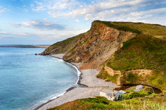 Millook Haven on the North Coast of Cornwall Royalty Free Stock Photography