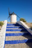 The mills of Don Quixote. Royalty Free Stock Images