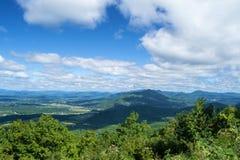 Mills Gap Overlook van Blauw Ridge Parkway royalty-vrije stock foto's