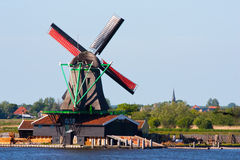 Mills in Holland Stock Photo