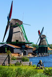 Mills in Holland Stock Photos