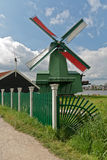 Mills in Holland. A mill with gate in the neighbourhood of Zaandam Stock Images