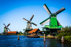 Mills in Holland Royalty Free Stock Image