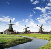 Mills in Holland Village Stock Image