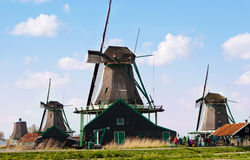 Mills in Holland Royalty Free Stock Images
